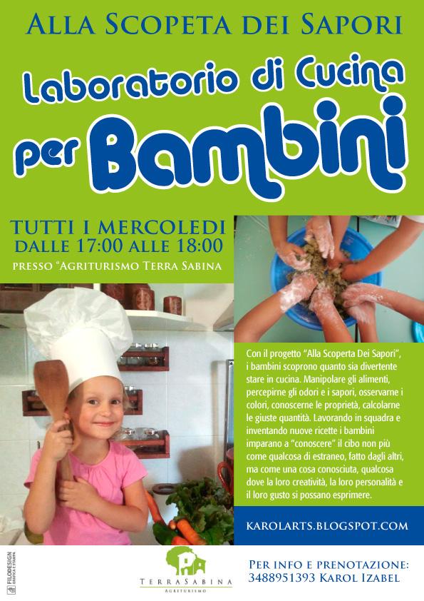 Laboratorio Cucina Bambini PN41 ~ Pineglen